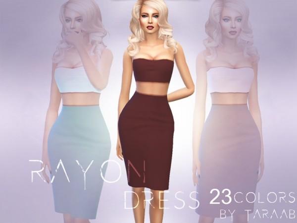 The Sims Resource: Rayon Dress by taraab