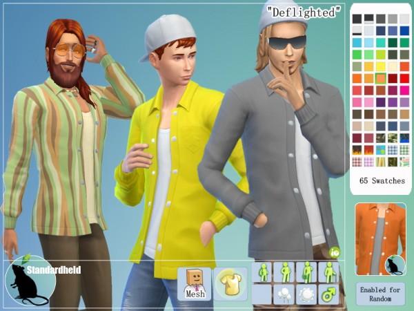 Simsworkshop: Deflighted shirt by Standardheld