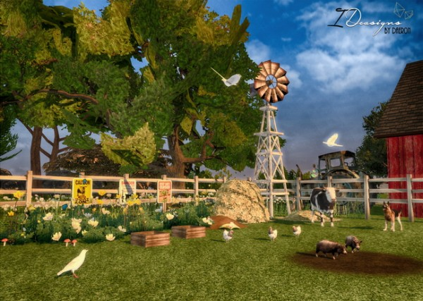Sims 4 Designs Farm Objects Converted Sims 4 Downloads
