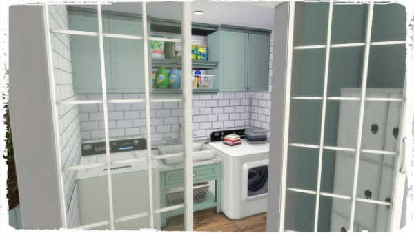 Dinha Gamer: Kitchen with Laundry