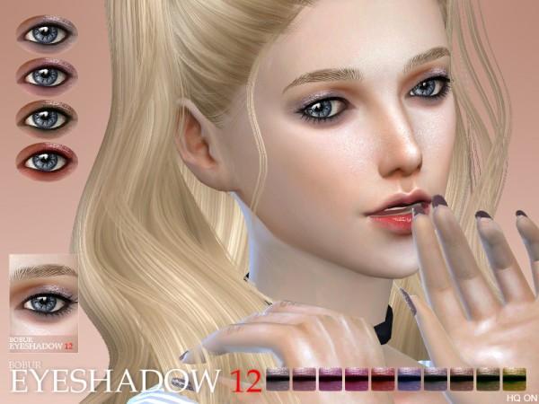The Sims Resource: Bobur Eyeshadow 12