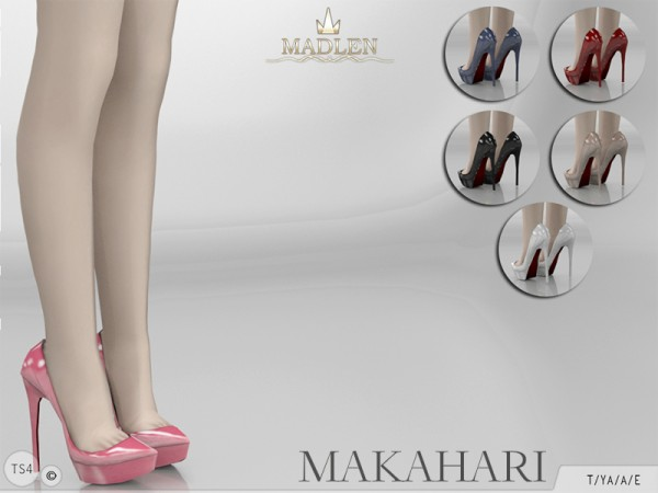 The Sims Resource: Madlen Makahari Shoes by MJ95