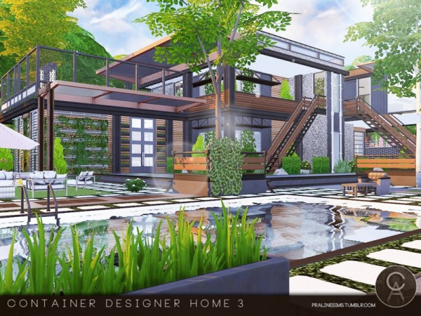 The sims resource container designer home 3 by for Home design resources