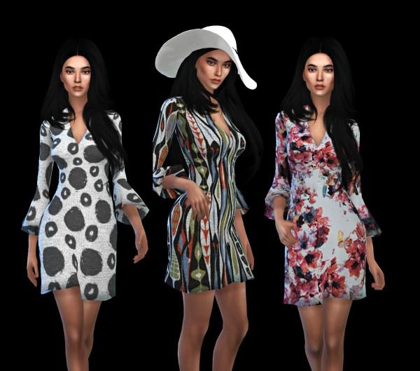 Leo 4 Sims: Patricia Dress