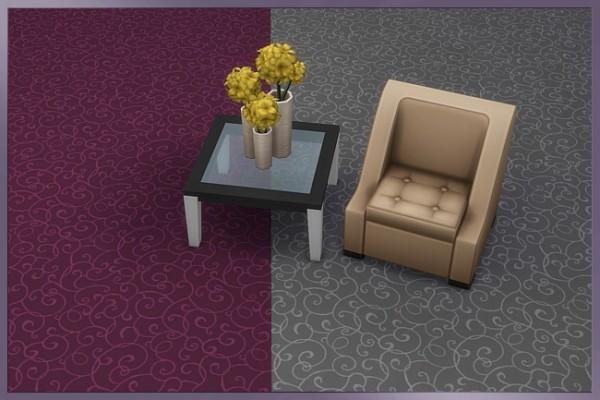 Blackys Sims 4 Zoo: Chantal rugs Cappu