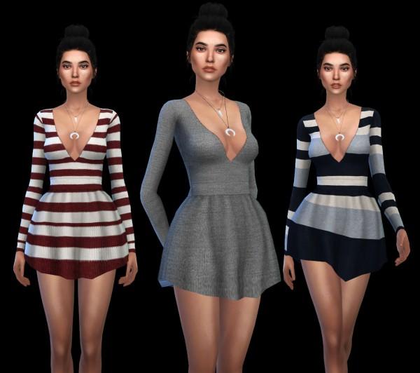 Leo 4 Sims: Leah dress
