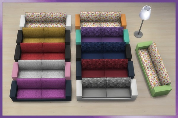 Blackys Sims 4 Zoo: Chilou livingroom by Cappu