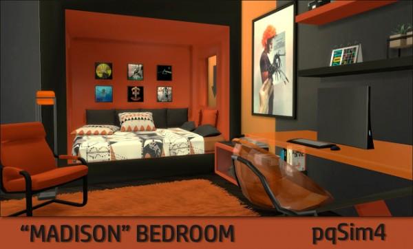 PQSims4: Madison Bedroom