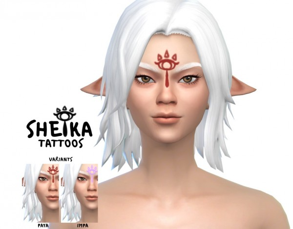 Simsworkshop: Sheika Tattoos by Meihyr