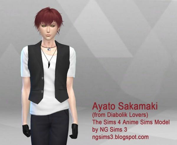 NG Sims 3: Ayato Sakamaki