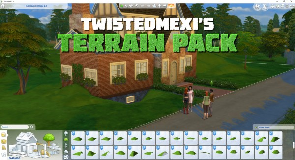 Mod The Sims: Terrain Pack by TwistedMexi