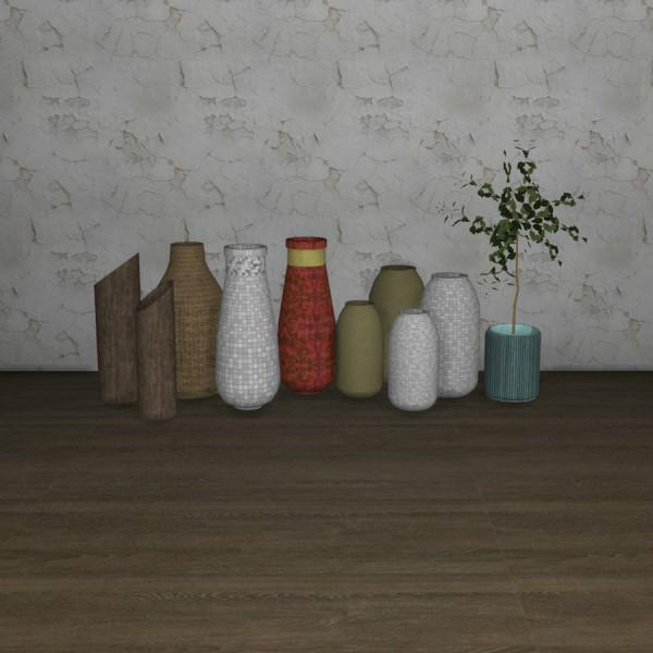 Leo 4 Sims: April Vases