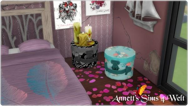 Annett`s Sims 4 Welt: Hat Box Table