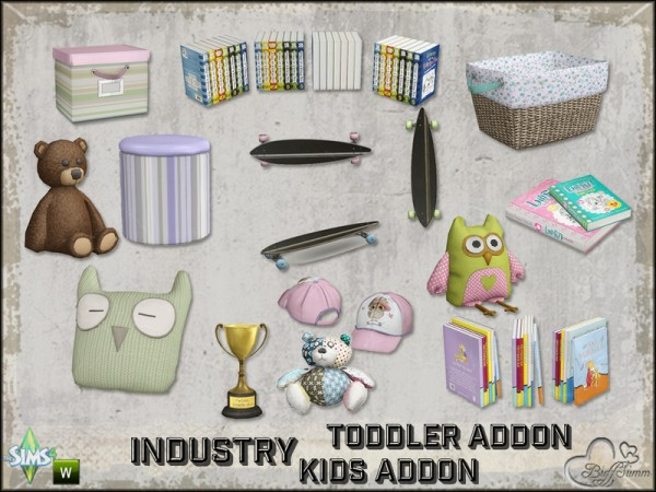 The Sims Resource: Toddler and Kids Addon Set by BuffSumm