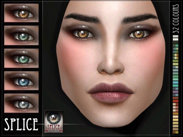 The Sims Resource: Splice Eyes by RemusSirion