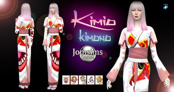 Jom Sims Creations: Kimio Kimono
