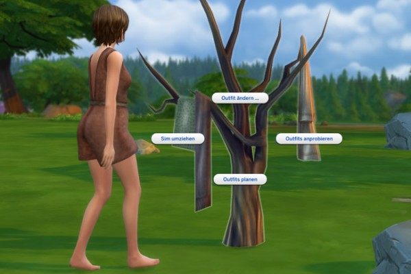 Blackys Sims 4 Zoo: Clothes tree by mammut