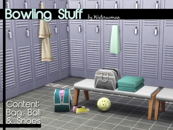 Akisima Sims Blog: Bowling Stuff