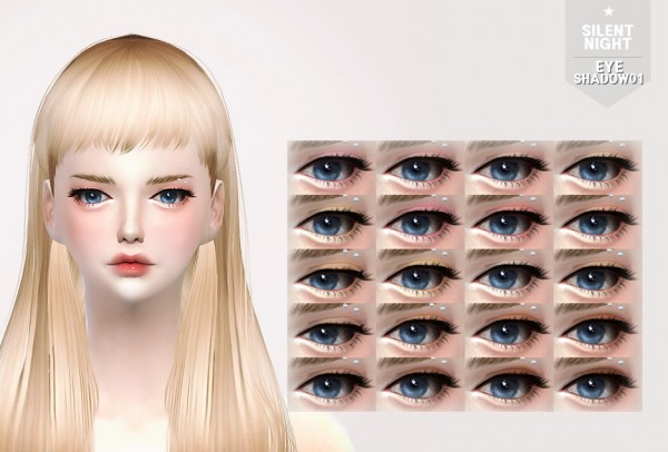 Silent Night: Eyeshadow 01