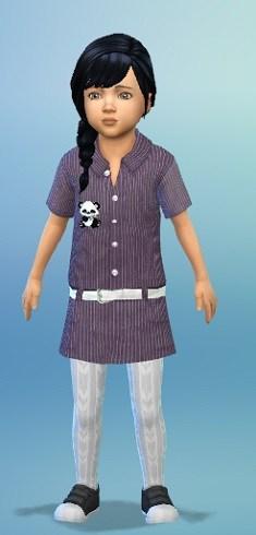 Birkschessimsblog: Denim Dress Toddler