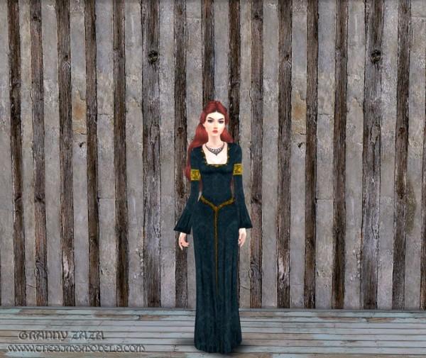 The Sims Models: Wood walls by Granny Zaza