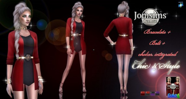 Jom Sims Creations: Chic and Style outfit