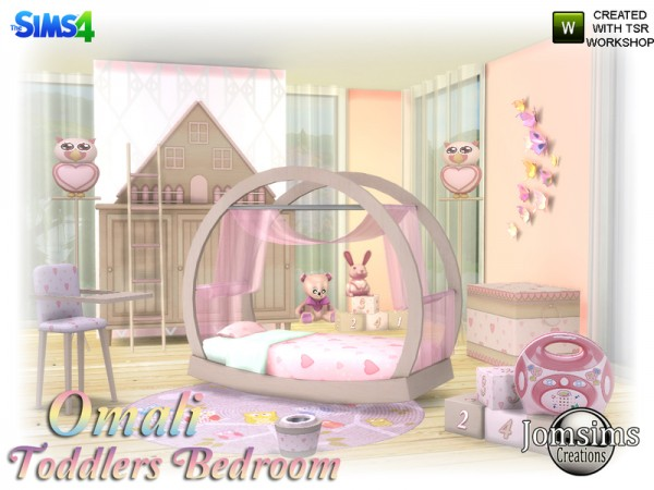The Sims Resource Omali Toddlers Bedroom By Jomsims