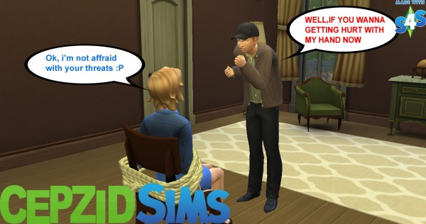 Simsworkshop Kidnapping Brave People Pose By Cepzid