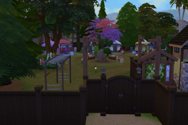 Blackys Sims 4 Zoo Tent Place High Fire Sims 4 Downloads
