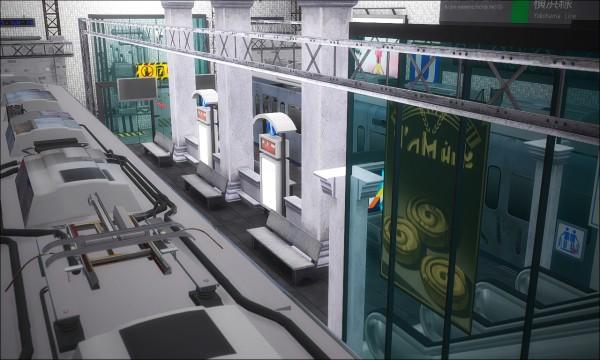 Nyuska: The entrance to the subway part 1
