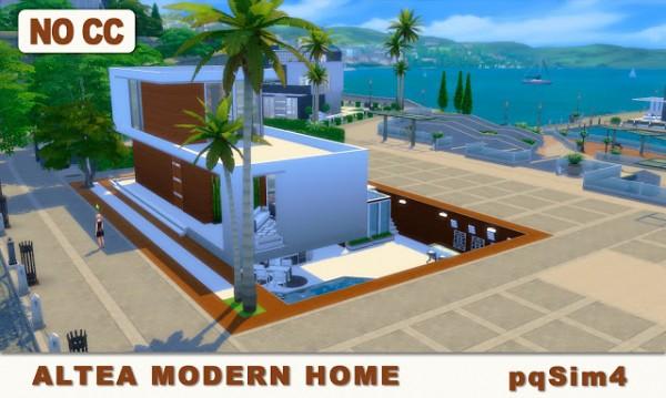 PQSims4: Altea Modern Home