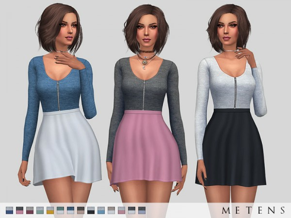 The Sims Resource: Melusine Dress by Metens