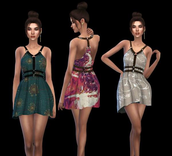 Leo 4 Sims: Abernathy Dress