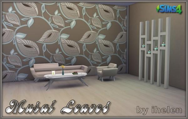 Ihelen Sims: Mural Leaves