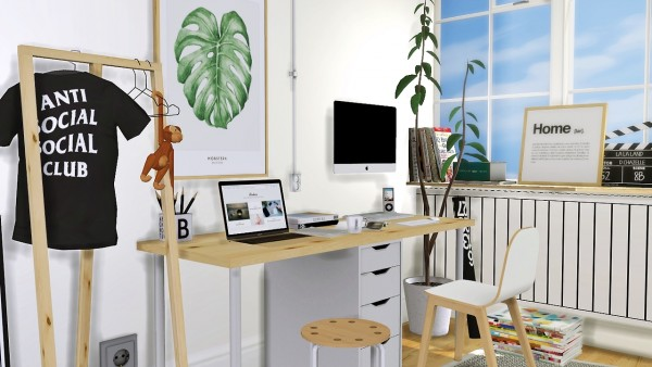 Mxims Alex Linnmon Desk Sims 4 Downloads