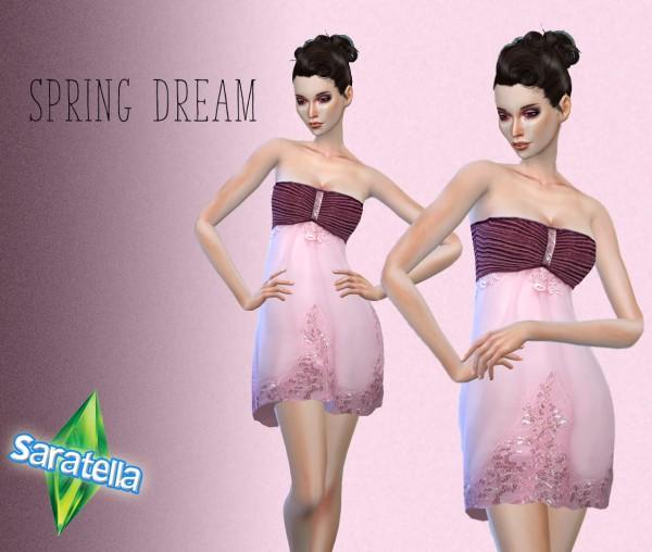 Saratella`s Place: Spring dream dress