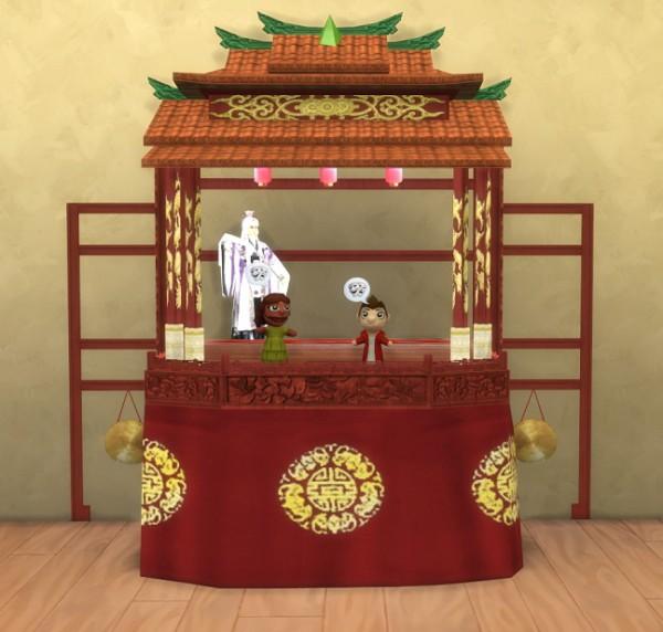 Simsworkshop: Puppet Theater by BigUglyHag