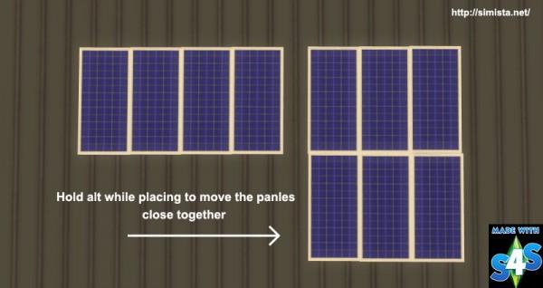 Simista: Domestic solar panels version 2