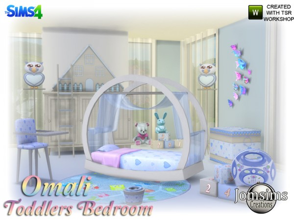 The Sims Resource: Omali Toddlers Bedroom by jomsims