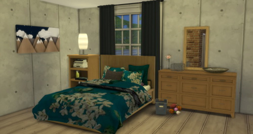 Chillis Sims: Dover Bedroom