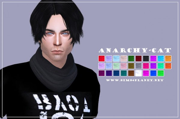 Anarchy Cat: S Club`s Scarf  recolor