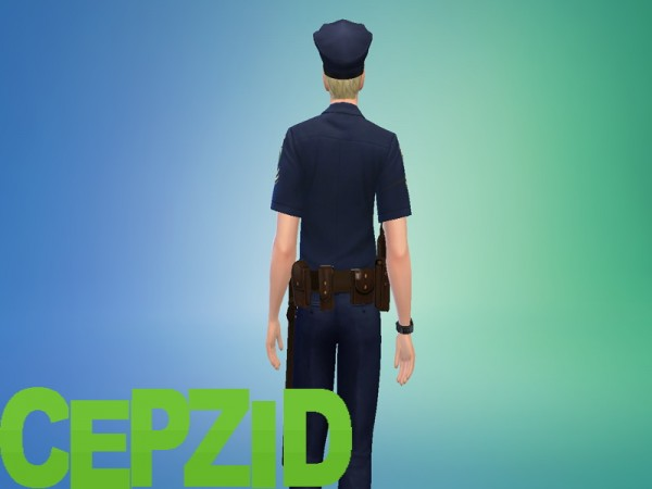 Mod The Sims The Sims Freeplay Police Uniform By