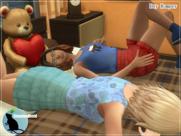 Simsworkshop: Day Romper by Standardheld