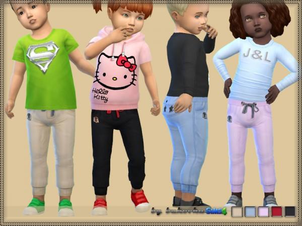The Sims Resource: Pants Pocket Rear by bukovka