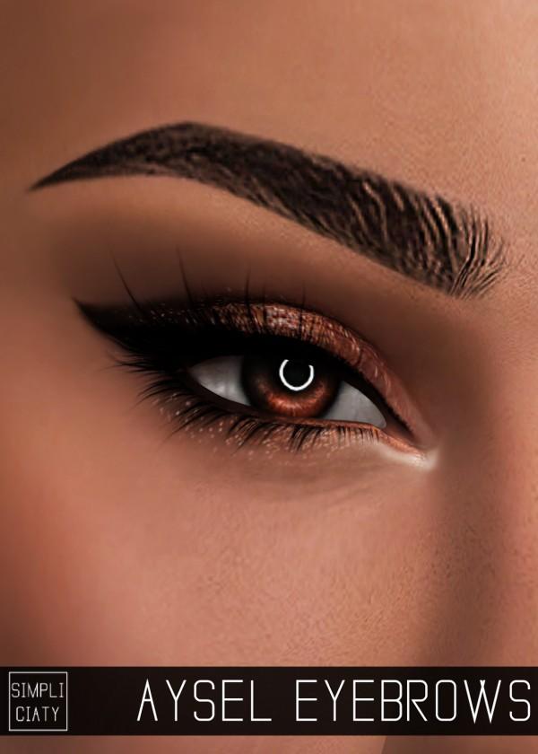 Simpliciaty Aysel Eyebrows Sims 4 Downloads