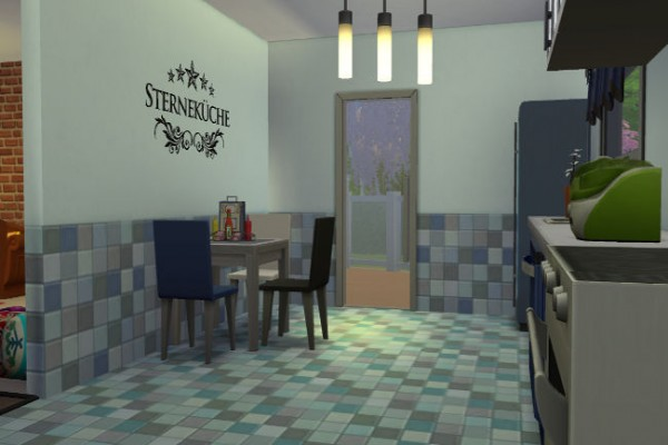Blackys Sims 4 Zoo Semi Detached House V1 By