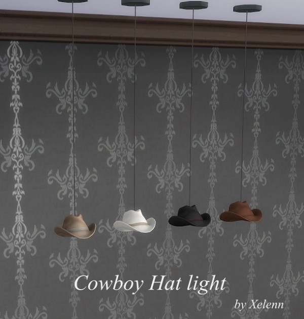 The Sims 4 Xelenn: Ladies and Gentlemen Hat lights