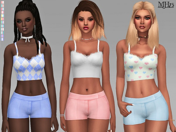 The Sims Resource: Joelle Outfit And Set by Margeh 75