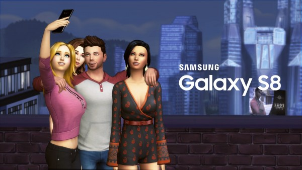 Mod The Sims: Samsung GALAXY S8 by littledica