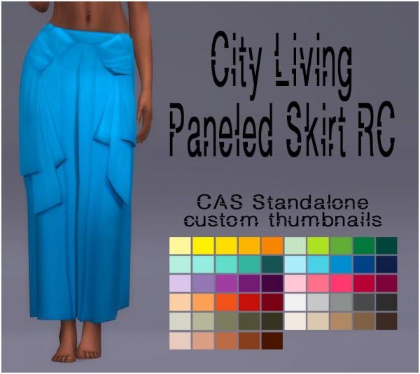 Simsworkshop: Paneled Skirt recolor by Sympxls